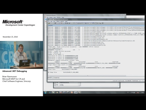MDCC TechTalk - Advanced .NET Debugging (part 2)