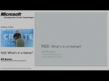 TechTalk - NUI - What's in a Name?