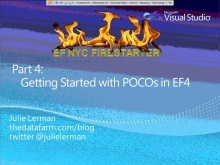 Entity Framework Firestarter - Session 4 (of 6)
