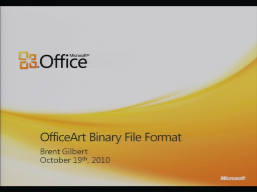 MS-OGRAPH Binary File Format Presentation