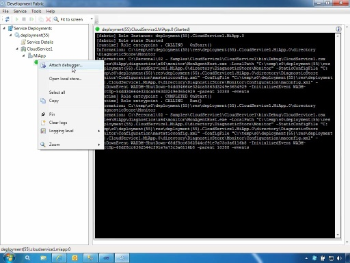 Desplegar aplicación en Windows Azure