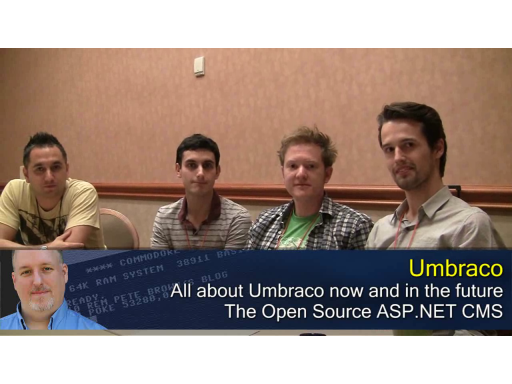 Pete at MIX10: Umbraco Core Team Interview