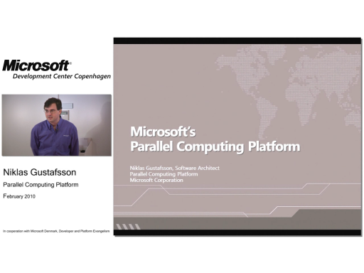 MDCC TechTalk - Parallel Computing Platform