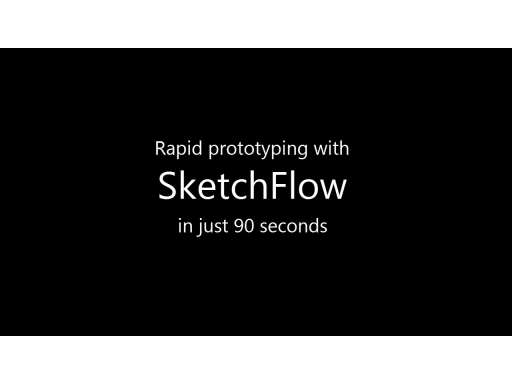 Sketchflow in 90 seconds