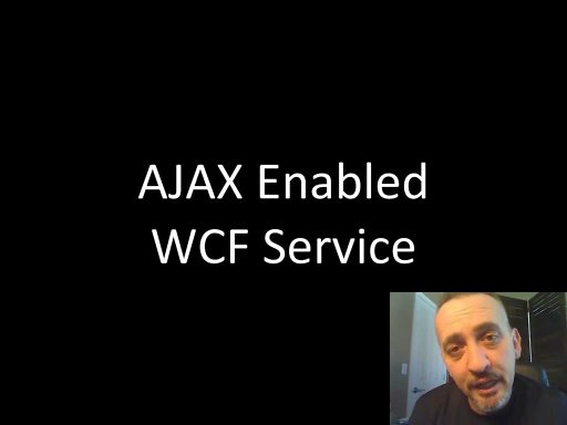 endpoint.tv Screencast - Creating an AJAX-enabled WCF Service