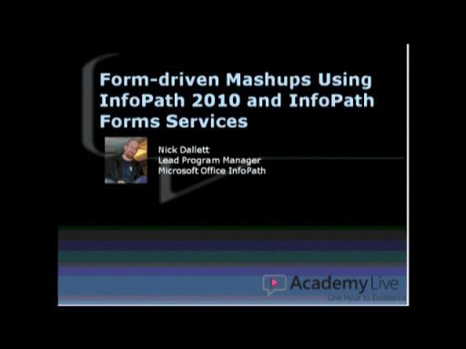 Form-Driven Mashups using InfoPath and SharePoint 2010