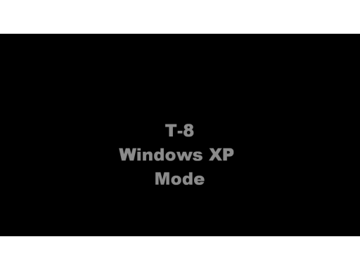 7x7 T-8: Windows XP Mode