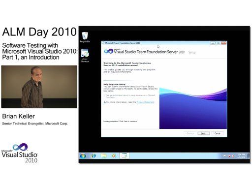 ALMday session 2 - Software Testing with Microsoft Visual Studio 2010: Part 1, an Introduction