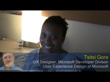 Pete at Microsoft: Tsitsi Gora on being a Designer at Microsoft