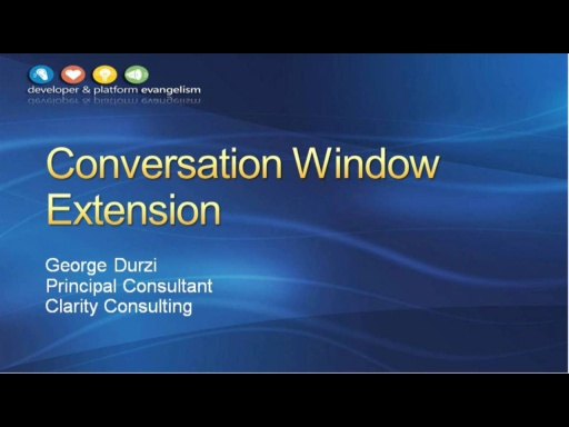 Session 3 - Part 2 - Extending the Lync 2010 Conversation Window with the Microsoft Lync 2010 Managed API