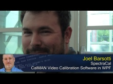 Pete at Microsoft: Joel Barsotti and CalMAN in WPF