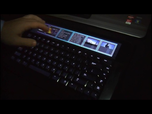 Microsoft's Adaptive Keyboard at UIST