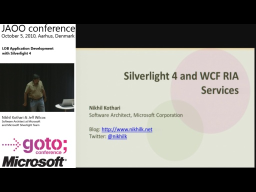 Nikhil Kothari - LOB Application Development with Silverlight 4
