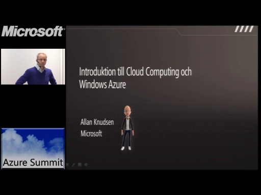 Azure Summit - Introduktion till Cloud Computing