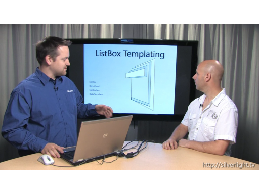 Templating Controls with Silverlight (Silverlight TV #36)