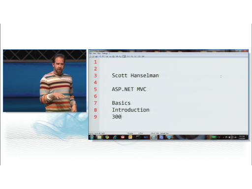 ASP.NET MVC 2: Basics, Introduction by Scott Hanselman