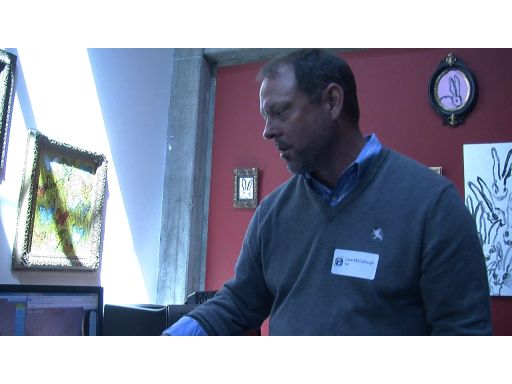 Lane McCullough: Dell hardware running IE 9 Canvas demos