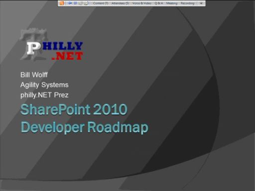 SharePoint 2010 Developer Roadmap