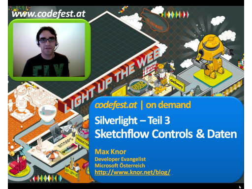 Sketchflow Controls & Daten - Silverlight 3