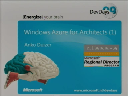 Windows Azure for Architects (Dutch)