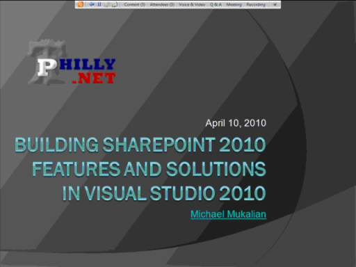 Building Features in SharePoint 2010