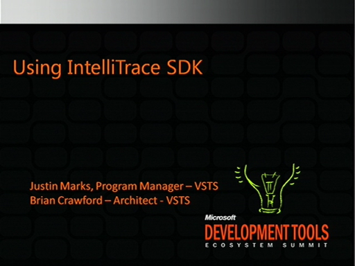 VSX209: Using Historical Debugging SDK