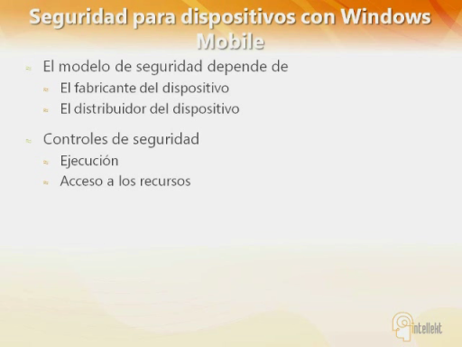 Windows Phone 6.5 Fundamentos de Seguridad