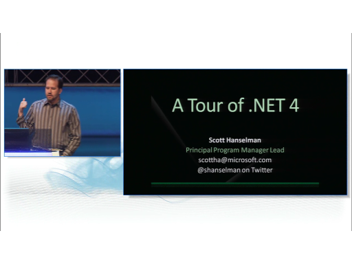 Lap Around .NET 4 with Scott Hanselman
