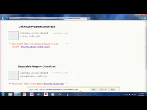 IE9 File Download with Integrated Safety