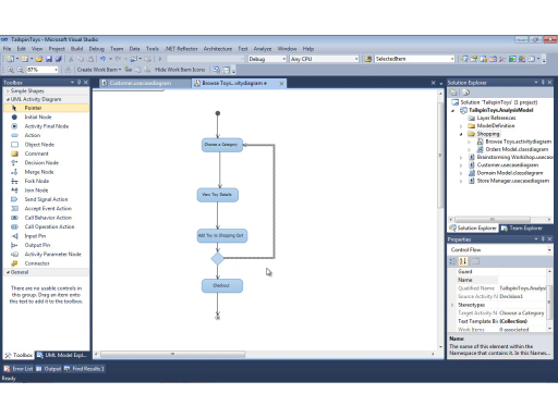 UML with VS 2010 Part 4: Capturing Business Workflows