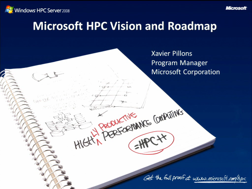 SACVIE 2010: HPC – What's there today and what are we investing in...