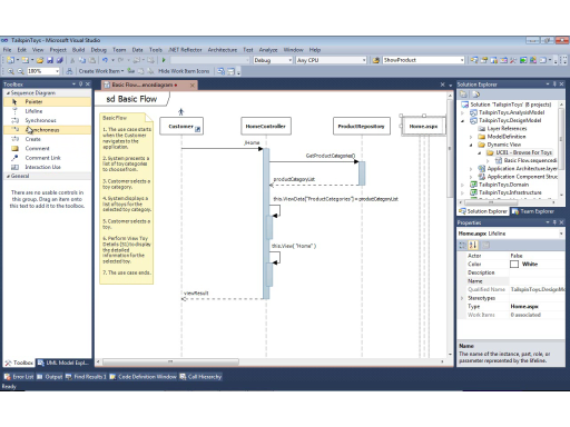 UML with VS 2010 Part 7: Sketching Interactions with Sequence Diagrams