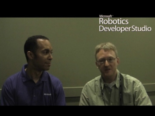 Microsoft Robotics Developer Studio, Cars and Home Automation with Stacy Harris and John Mullinax
