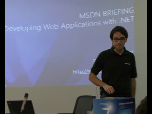 MSDN Briefing ASP.NET Teil 1: Webforms