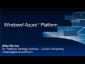 Windows Azure and Partner Opportunities