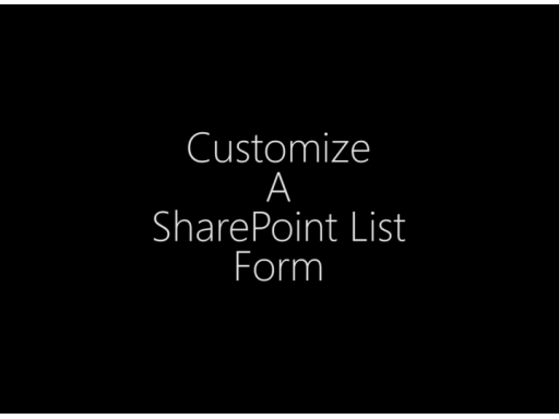 InfoPath 2010 - Customize a SharePoint List Form