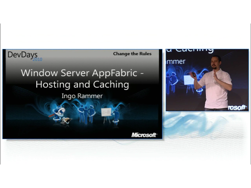 Windows Server AppFabric Hosting and Caching by Ingo Rammer