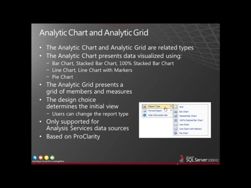 Presentation: Developing Reports and Dashboards with SharePoint 2010 PerformancePoint Services