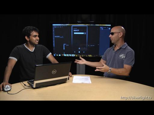 Silverlight TV 45: Building a Bing Web and Image Search App for Windows Phone 7 Using Blend and Silverlight