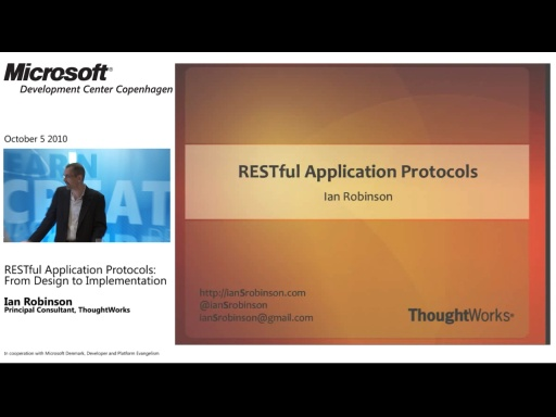 TechTalk - RESTful Application Protocols, From Design to Implementation