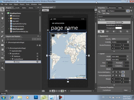 Usa mapas y geolocalización en tu aplicación con Windows Phone 7