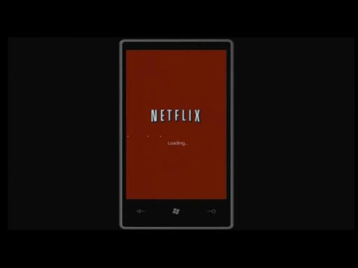 Windows Phone 7 Demo: Netflix