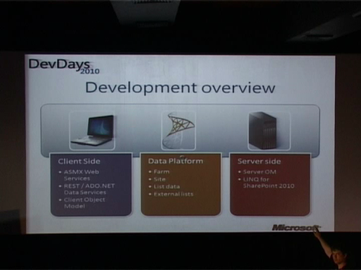 DevDays 2010: SharePoint 2010 for .NET Developers - Adis Jugo