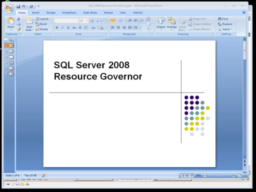 SQLShort: SQL Server Resource Governor