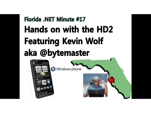 HTC HD2 Hands on with Kevin Wolf (@bytemaster)