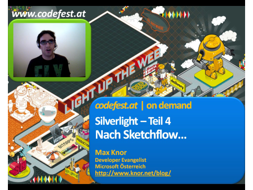 Nach Sketchflow... - Silverlight 3