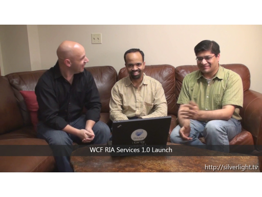 WCF RIA Services v1.0 Launch! (Silverlight TV 28)