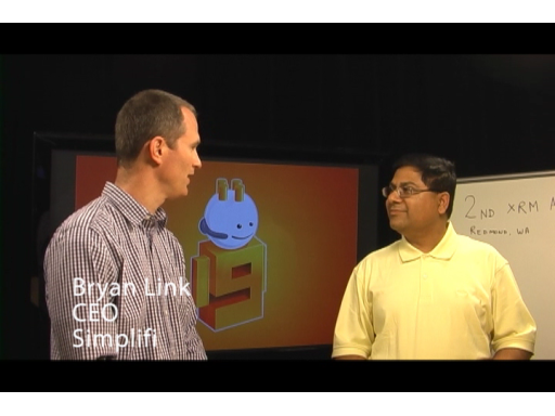 Talking with Simplifi at a recent XRM Acceleration Lab in Redmond, WA