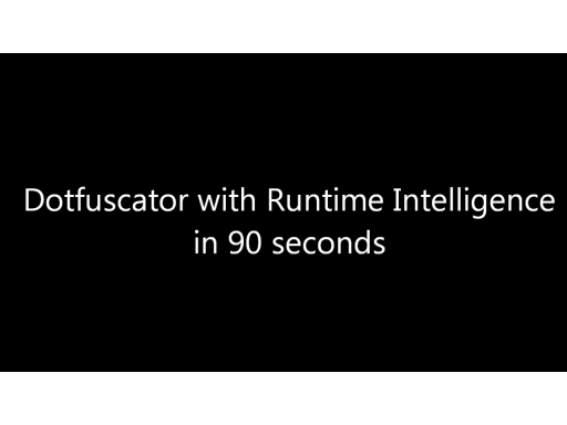 Dotfuscator Runtime Intelligence in 90 seconds