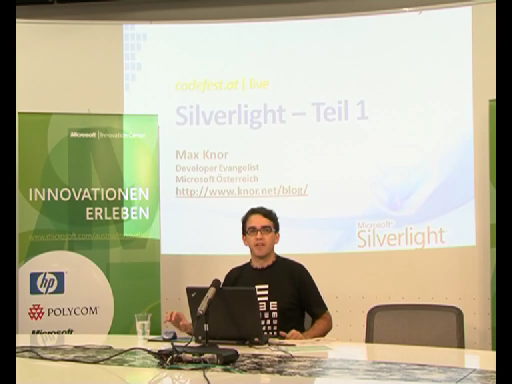 Codefest Webcast - Silverlight 1/3 28.08.2009